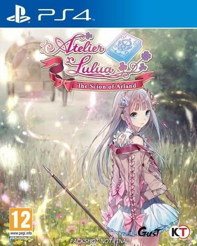 Atelier Lulua, The Scion of Arland, 1 PS4-Blu-Ray Disc