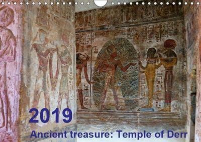 Ancient treasure: Temple of Derr (Wall Calendar 2019 DIN A4 Landscape)