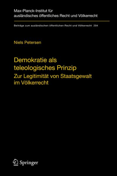Demokratie als teleologisches Prinzip