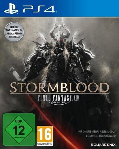 Final Fantasy XIV Online, Stormblood, 1 PS4-Blu-ray Disc