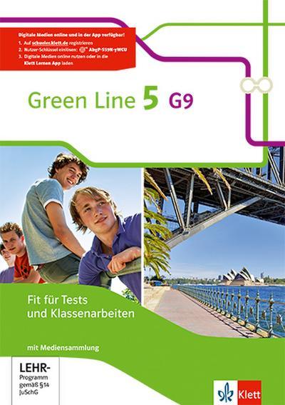 Green Line 5 G9. Fit für Tests und Klassenarbeiten mit Lösungsheft und CD-ROM Klasse 9