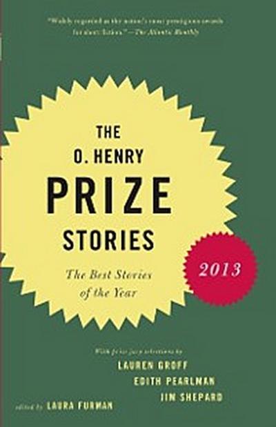 O. Henry Prize Stories 2013