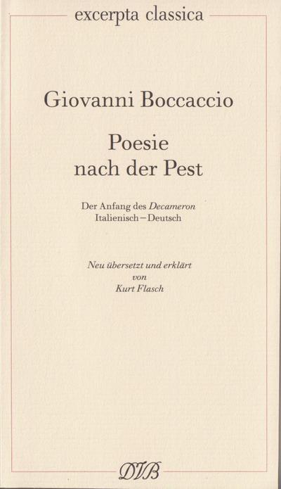 Poesie nach der Pest
