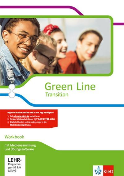 Green Line Transition. Workbook mit CD-ROM und Übungssoftware Klasse 10 (G8), Klasse 11 (G9)