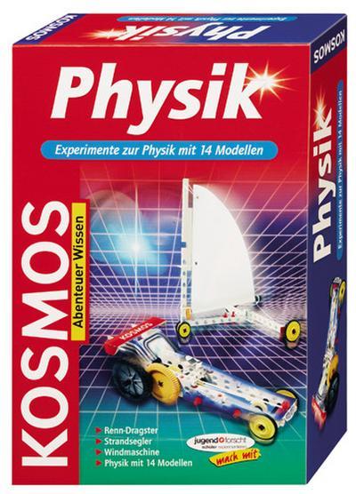 Physik, Experimente zur Physik mit 14 Modellen (Experimentierkasten)