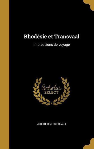 FRE-RHODESIE ET TRANSVAAL