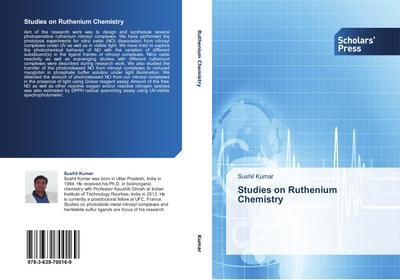 Studies on Ruthenium Chemistry