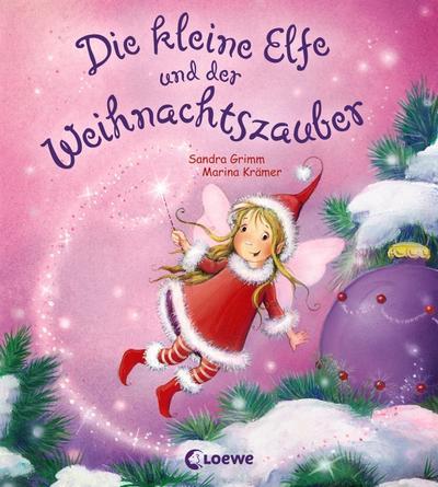 Die kleine Elfe und der Weihnachtszauber   ; mit Glitzer auf dem Cover und Innenseiten; Ill. v. Krämer, Marina; Deutsch;  -