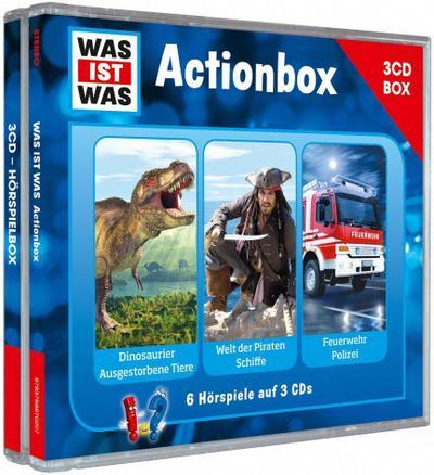 WAS IST WAS 3-CD-Hörspielbox 'Action und Abenteuer'