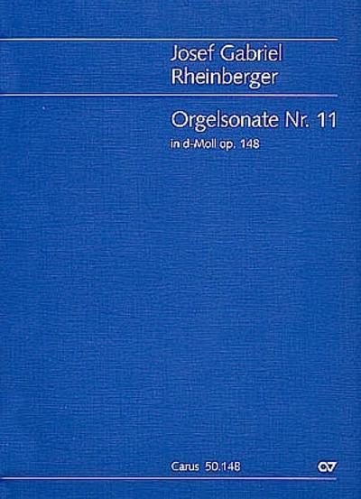 Sonate d-Moll Nr.11 op.148 :für Orgel