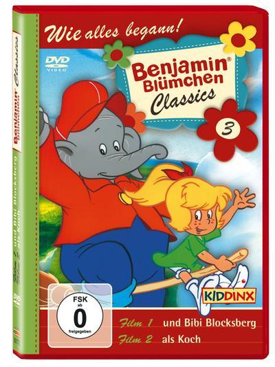 Benjamin Blümchen Classics 03 ... und Bibi Blocksberg / ... als Koch. DVD
