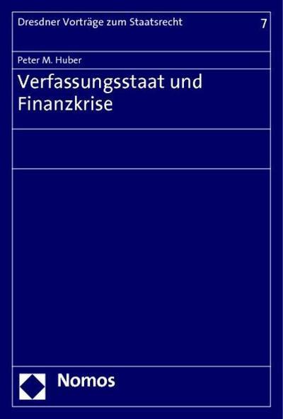 Verfassungsstaat und Finanzkrise