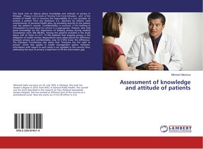 Assessment of knowledge and attitude of patients