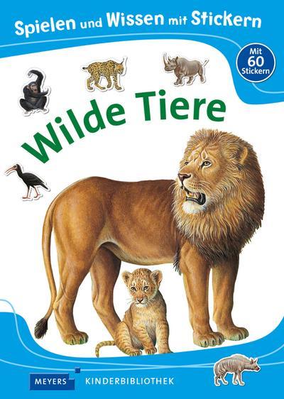 Stickerbuch Wilde Tiere