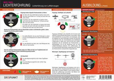 Lichterführung von Luftfahrzeugen: Positions- und Kollisionswarnlichter von Luftfahrzeugen