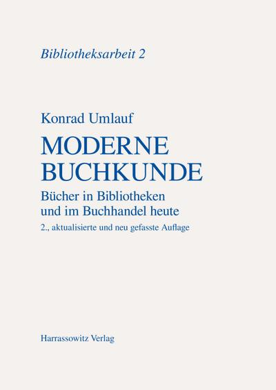 Moderne Buchkunde