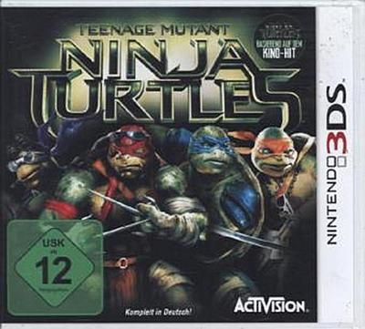 Teenage Mutant Ninja Turtle Movie. Nintendo 3DS