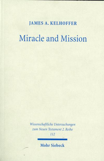 Miracle and Mission
