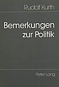 Bemerkungen zur Politik
