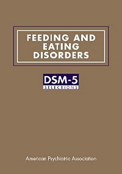 Feeding and Eating Disorders