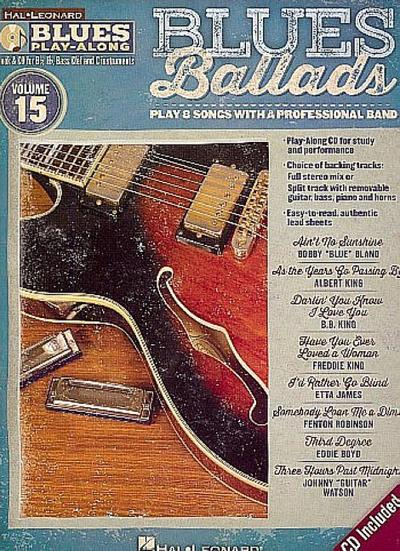 Blues Ballads: Blues Play-Along Volume 15