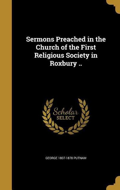 SERMONS PREACHED IN THE CHURCH