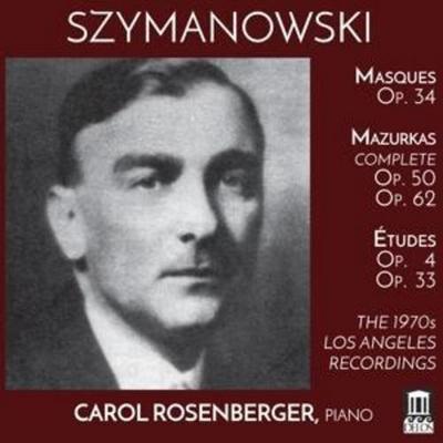 Masques op.34/Mazurkas op.50/62/+