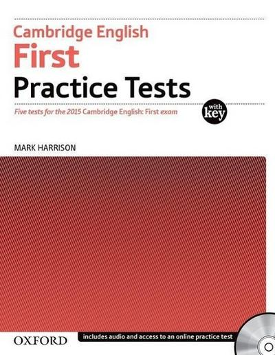First Certificate - Practice Tests Part 1. Workbook with Key and CDs