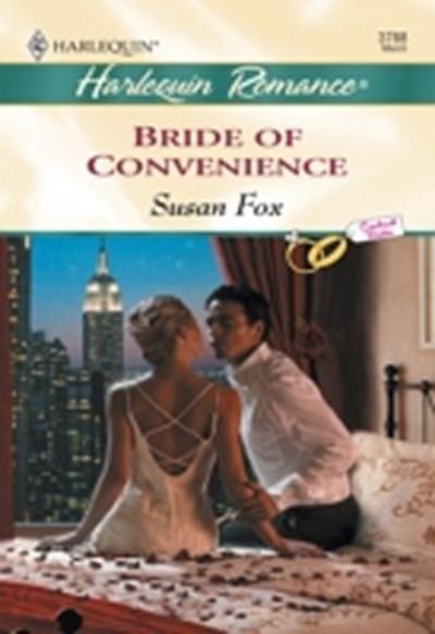 Bride Of Convenience (Mills & Boon Cherish)