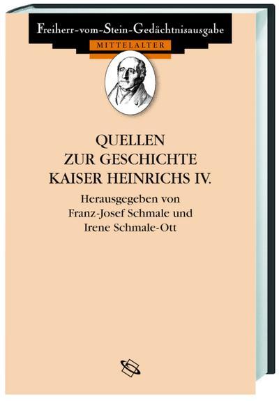 Quellen zur Geschichte Heinrichs IV.
