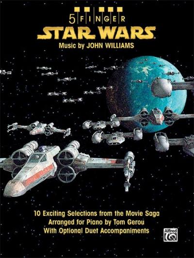 John Williams: Star Wars - 5 Finger Piano John Williams