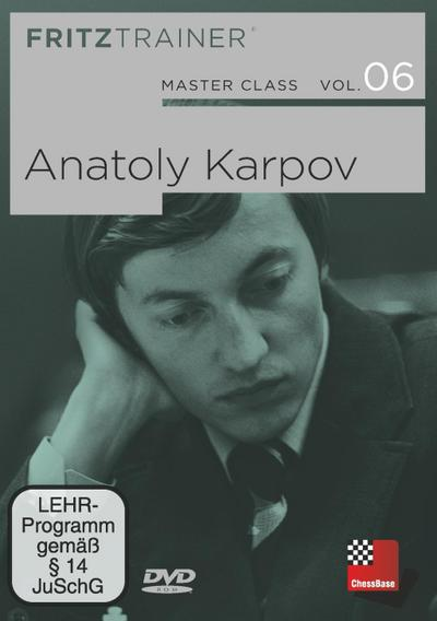Anatoly Karpov, 1 DVD-ROM