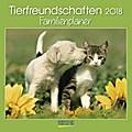 Tierfreundschaften Familientimer 2018. Broschürenkalender