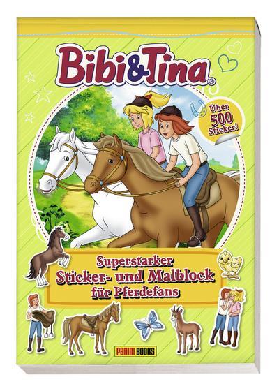 Bibi & Tina: Pferdestarker Sticker- und Malspaß