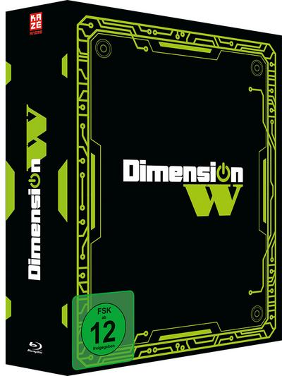 Dimension W - Blu-ray 1 mit Sammelschuber (Limited Edition)