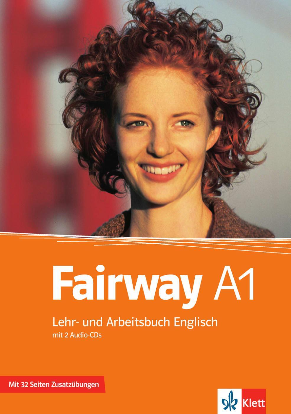Fairway A1: Lehr- und Arbeitsbuch Englisch mit 2 Audio-CDs Herbert Stranks  ...