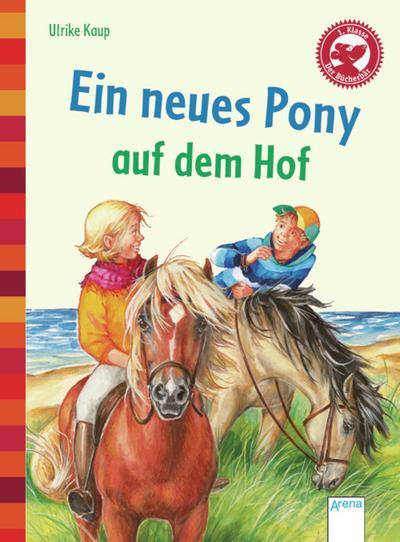 Ein neues Pony auf dem Hof