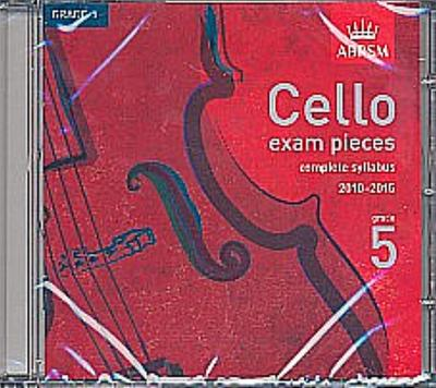 Cello Exam Pieces Grade 5 : CDcomplete syllabus 2010-2015