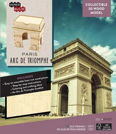 IncrediBuilds: Paris: Arc de Triomphe Collectible 3D Wood Model