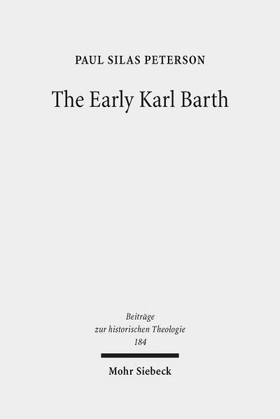 The Early Karl Barth