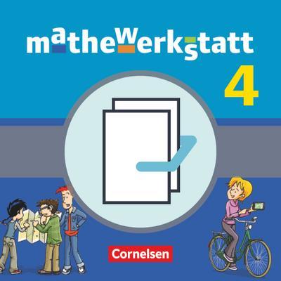 mathewerkstatt 04. Schülerbuch mit Materialblock Mittlerer Schulabschluss Baden-Württemberg