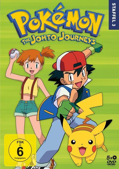 Pokémon - Staffel 3: Die Johto Reisen