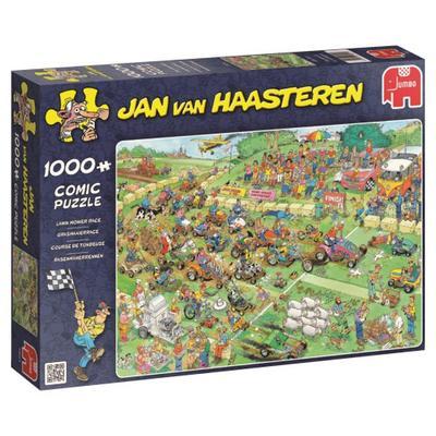 Jan van Haasteren - Rasenmäherrennen -  Puzzle 1000 Teile