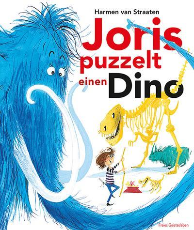 Joris puzzelt einen Dino