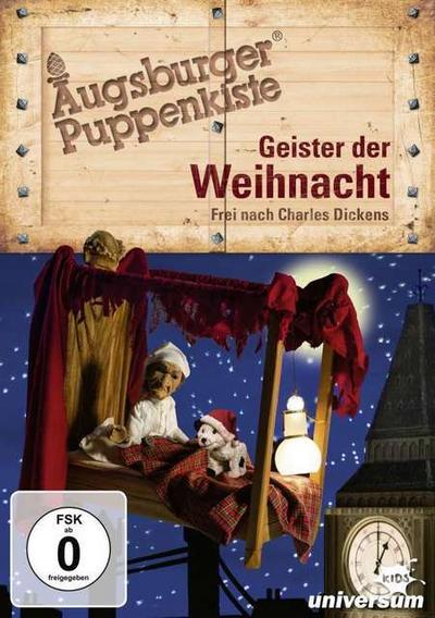 Augsburger Puppenkiste - Geister der Weihnacht, 1 DVD