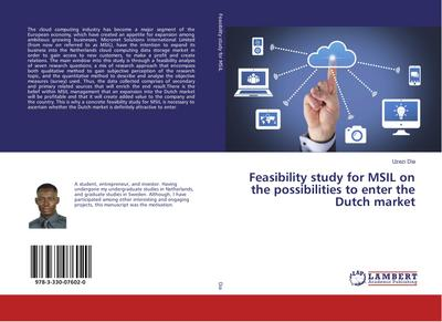 Feasibility study for MSIL on the possibilities to enter the Dutch market