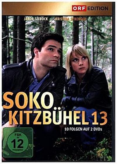 SOKO Kitzbühel. Staffel.13, 2 DVDs