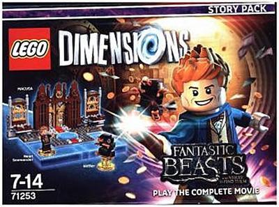 LEGO Dimensions - Story Pack - Phantastische Tierwesen - Warner Bros. - Videospiel, Deutsch, , Macusa, Newt Scamander, Niffler, Macusa, Newt Scamander, Niffler