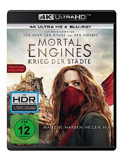 Mortal Engines Krieg der Städte 4K, 3 UHD-Blu-ray