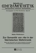 Zur Semantik von rike in der Sächsischen Welt ...